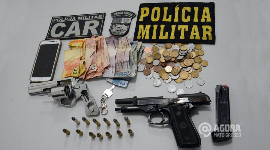 Três são presos após assalto à agência dos Correios em Juscimeira