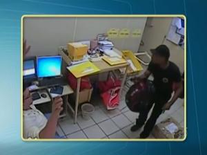 PF divulga imagens do assalto a agência dos Correios em Santarém