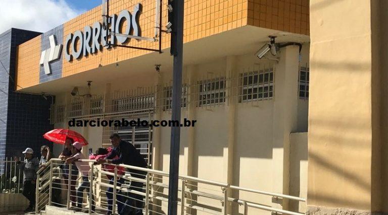 Em crise, Agência dos Correios de Arcoverde passa a fechar 1 hora mais cedo