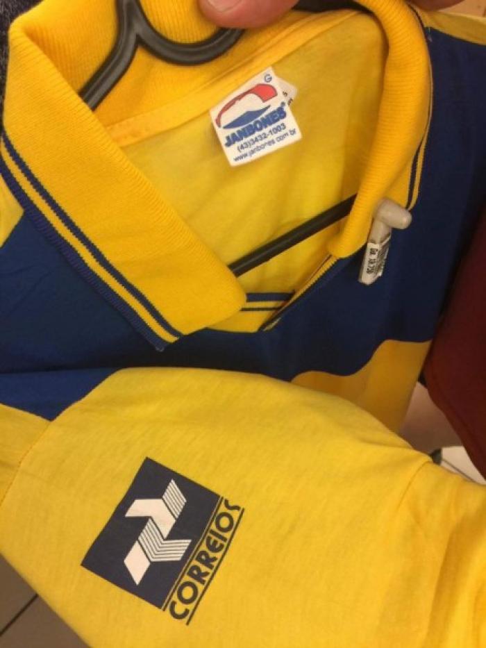 camisas correios
