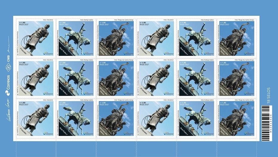 Monumentos históricos brasileiros são destaque em emissão especial de selos