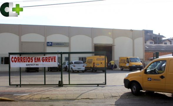 Greve dos Correios ainda não afeta a Serra Catarinense