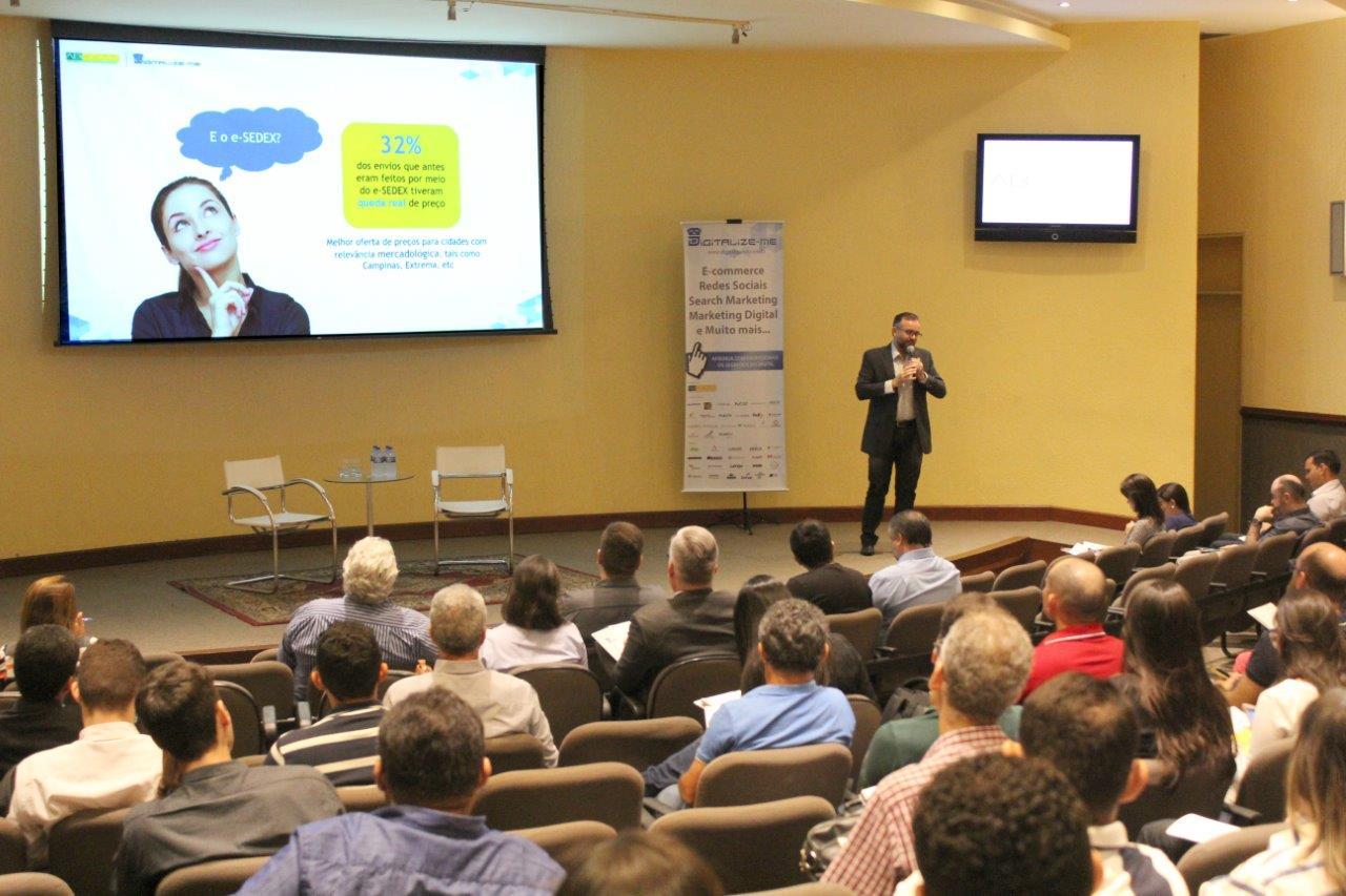Correios apresenta soluções logísticas em evento da Associação Brasileira de Comércio Eletrônico