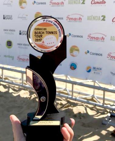 Correios Beach Tennis Tour desembarca nas areias de Ipanema