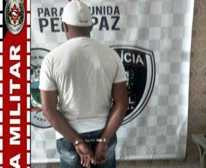 Polícia Militar prende acusado de assaltos a Banco e Correios no Vale do Mamanguape