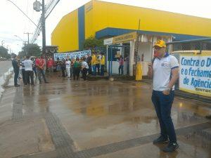 Protesto de funcionários dos Correios em AL cobra melhores condições de trabalho