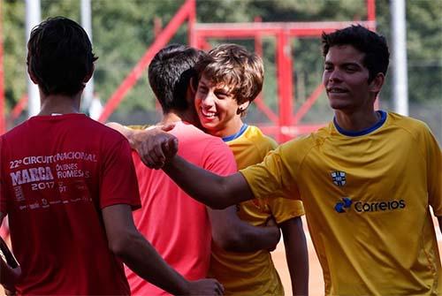 Notícias sobre Time Correios Brasil estreia com vitória arrasadora na Copa Davis Junior