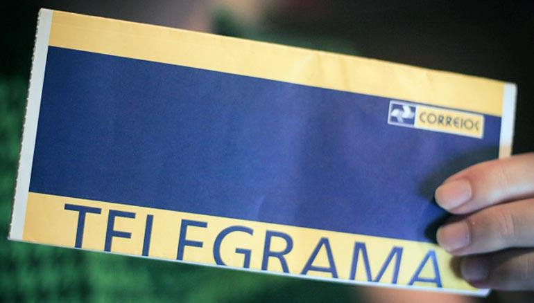 Notícias sobre Telegrama Nacional/Internacional
