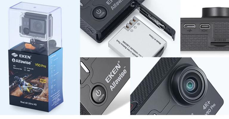 Câmera de Ação EKEN Alfawise V50 Pro