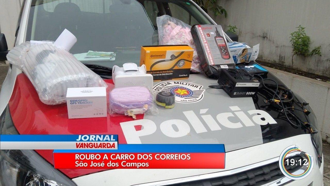 carro policia produtos roubo
