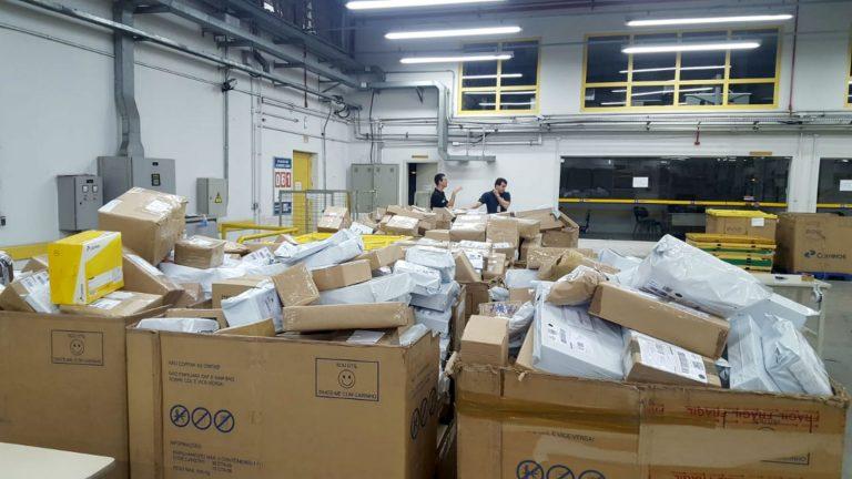 Operação da Receita Federal apreende R$ 2 milhões em mercadorias compradas pela web em Bauru