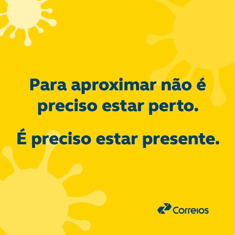 Correios – medidas preventivas para o combate ao novo coronavírus